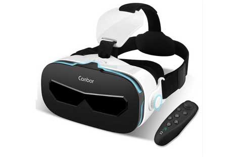 Canbor「VRゴーグル Bluetoothコントローラ付属」