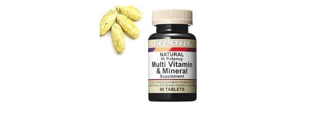 LIFE STYLE(ライフスタイル)「マルチビタミン&ミネラル」
