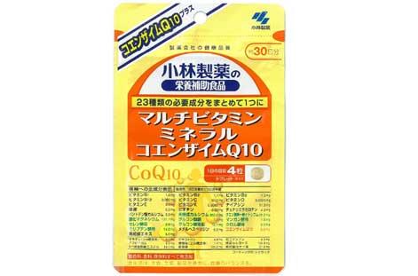 小林製薬「マルチビタミン ミネラル コエンザイムQ10 」