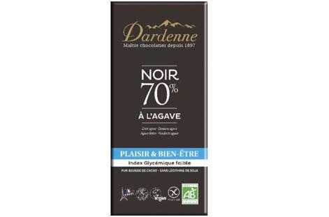 ダーデン「有機アガベチョコレート ダーク カカオ 70%」