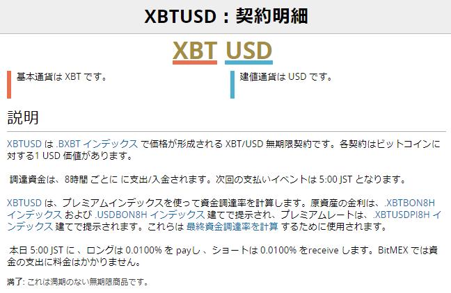 BitMEX(ビットメックス)