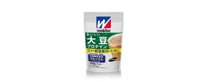 ウイダー「おいしい大豆プロテイン」