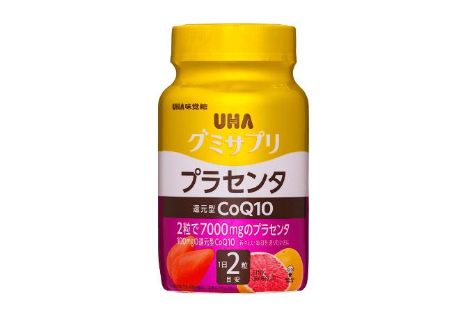 UHAグミサプリ 還元型CoQ10プラセンタ