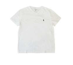 POLO Ralph Lauren(ポロラルフローレン)「半袖Tシャツ ワンポイントメンズVネック」