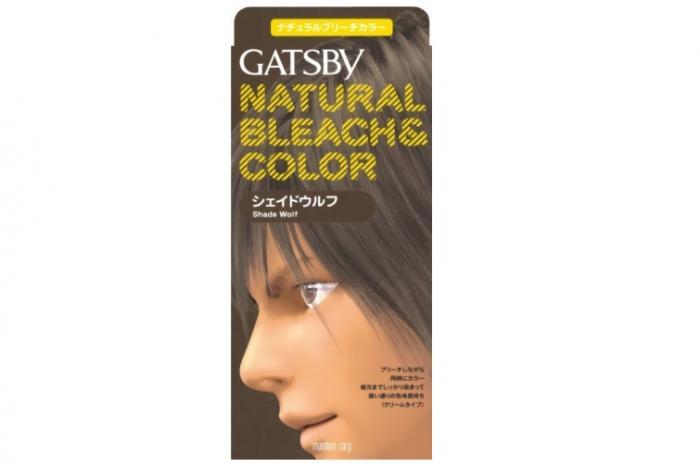 GATSBY「ナチュラルブリーチカラー」