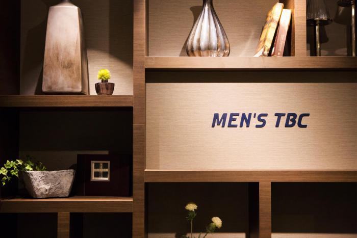 MEN'S TBCの店内画像
