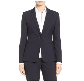 BOSS(ボス)「 'Jabina' Stretch Wool Suit」