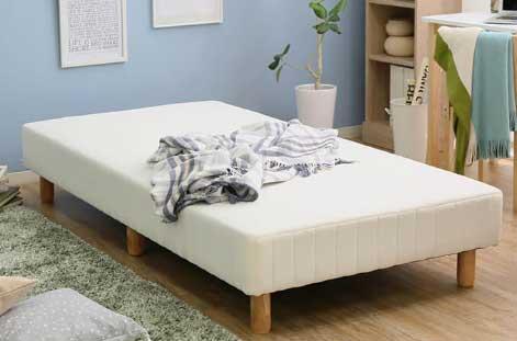 LOWYA(ロウヤ)「 脚付きマットレス ベッド 」
