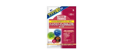 小林製薬「ナットウキナーゼ&DHA&EPAセット」