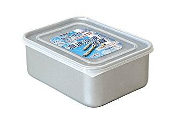 アカオアルミ「アルミ 急冷 保存容器 クイッキー 深型中(1.8L)」