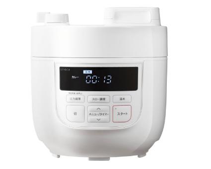 シロカ「電気圧力鍋 SP-D131」