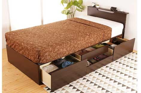 インテリアオフィスワン「チェストベッド 収納ベッド」