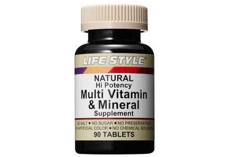 LIFE STYLE「マルチビタミン&ミネラル」