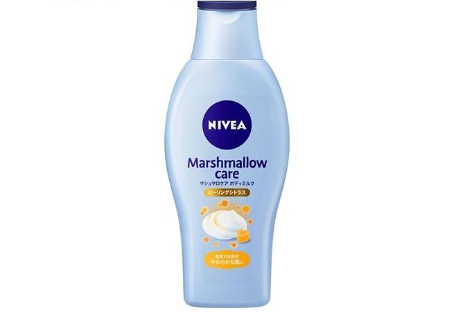 ニベア 「マシュマロケア ボディミルク ヒーリングシトラスの香り」