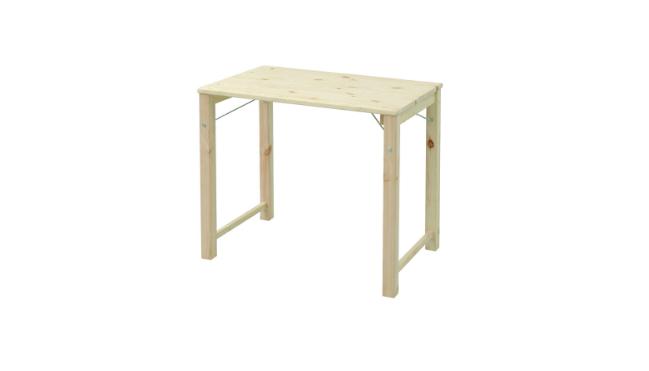 折りたたみ式パイン材テーブルMJT-7850H