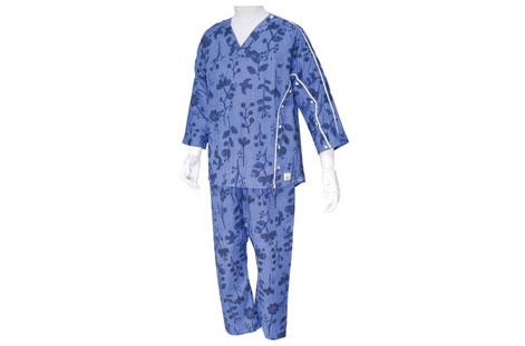 七福「イージー オン・オフ療養パジャマ」
