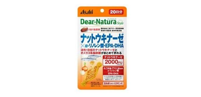 ディアナチュラ「ナットウキナーゼ×α-リノレン酸・EPA・DHA」