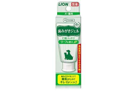 ライオンペット「PETKISS 歯磨きジェル」