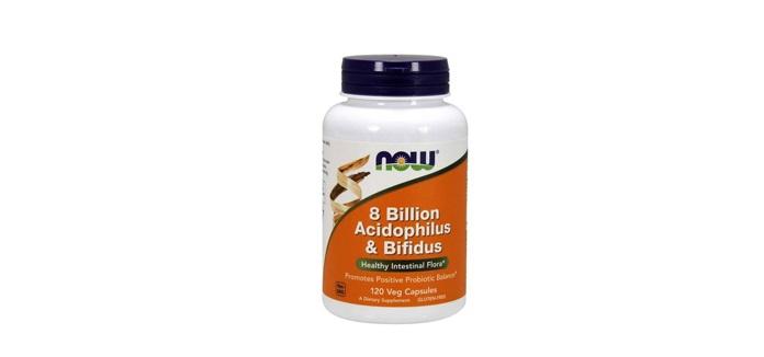 NOW Foods「アシドフィルス&ビフィズス菌 80億」