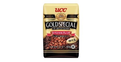 UCC 「炒り豆 ゴールドスペシャル スペシャルブレンド」