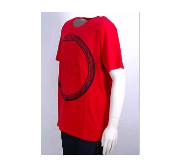 GUCCI(グッチ)「スペーススネークプリントコットンTシャツ」