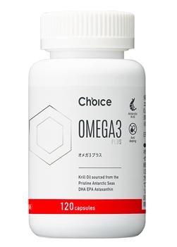 CHOICE NUTRITION 「OMEGA3+ (オメガ3プラス) 120カプセル」