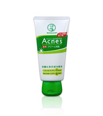 ロート製薬 メンソレータムアクネス薬用クリーム洗顔
