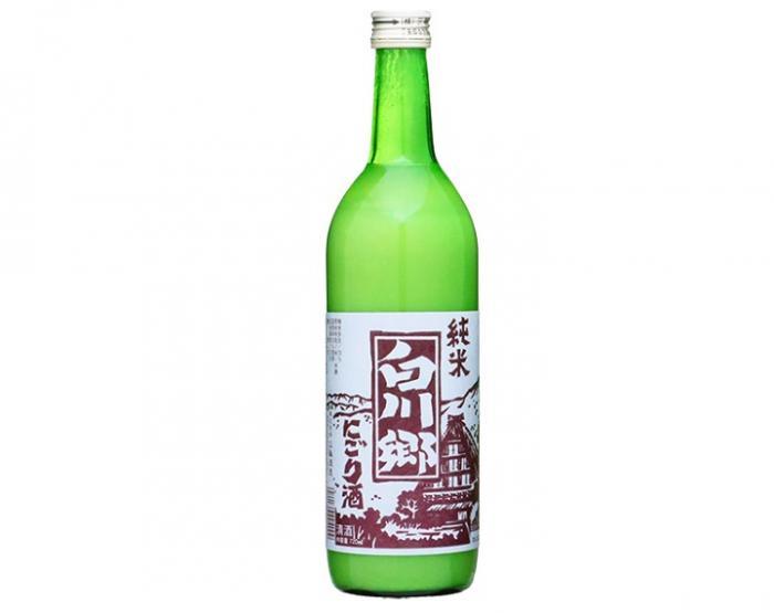 三輪酒造「白川郷 純米にごり酒」