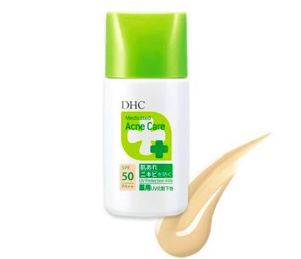 DHC「薬用アクネケア UVプロテクションミルク」
