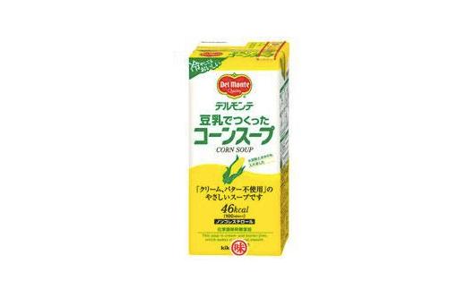 キッコーマン「デルモンテ 豆乳でつくったコーンスープ」
