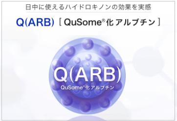 QuSome化アルブチンについて