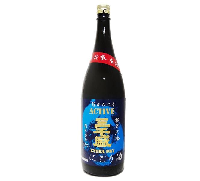 三千盛「純米大吟 EXTRA DRY にごり酒」
