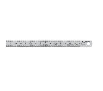 コクヨ「直線定規 ステンレス C型 JIS1級 15cm TZ-1341」