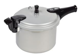 ホットクッキング アルミ IH対応 圧力 鍋 6.0L 1升炊 HB-378