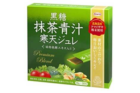 KOWA(コーワ) 「黒糖抹茶青汁寒天ジュレ」